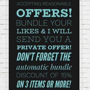 Other - Don't be shy! Make an offer!